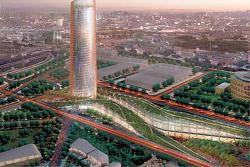 El rascacielos de cajasol en sevilla revoluciona el for Oficinas cajasol sevilla