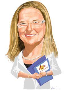Caricatura de Irene Garrido, nueva presidenta del ICO. - 1409942701_828370_1409942776_noticia_normal