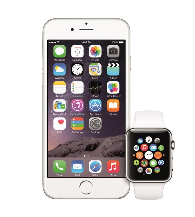 Iphone 6 iphone 6 plus y apple watch toma de contacto en for Especificaciones iwatch