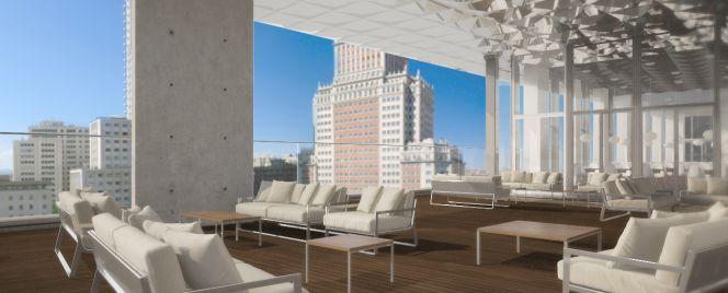 De edificio okupa a cinco estrellas en la plaza de espa a for Edificio de la comunidad de madrid