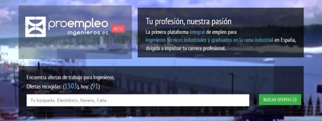 Una web para que los ingenieros técnicos industriales encuentren empleo