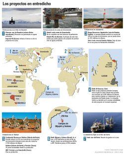 Proyectos petrolíferos abandonados