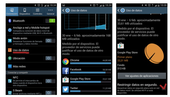 Activar datos móviles