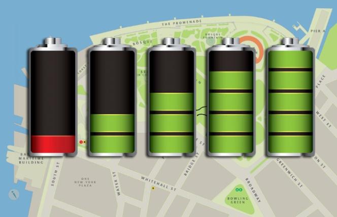 La batería de tu móvil puede delatar donde has estado sin necesidad del GPS