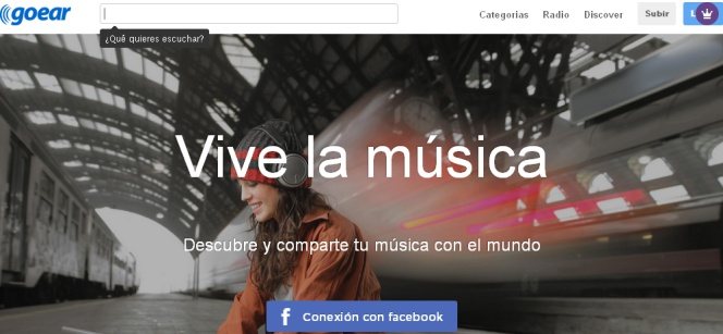 Goear, la web de 'streaming' ilegal que ha bloqueado la Audiencia Nacional