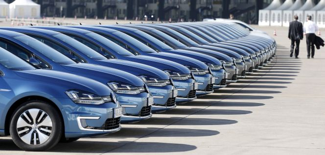 Volkswagen encabeza las ventas de coches en Europa