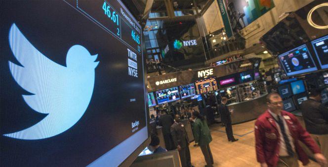 Twitter se desploma más de un 14% en Wall Street