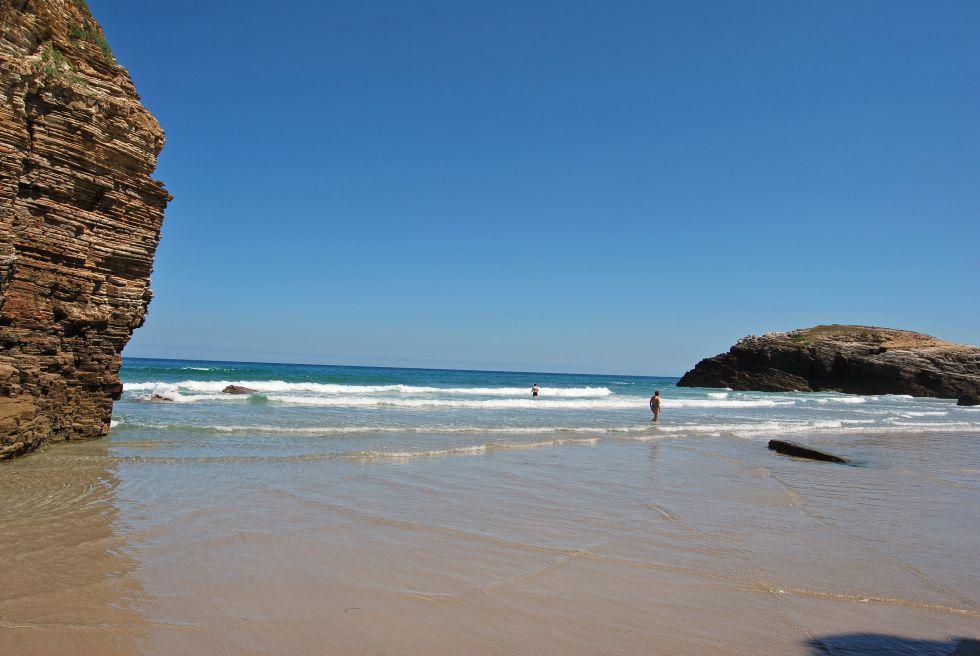 Playa de las Catedrales, Ribadeo, Galicia.