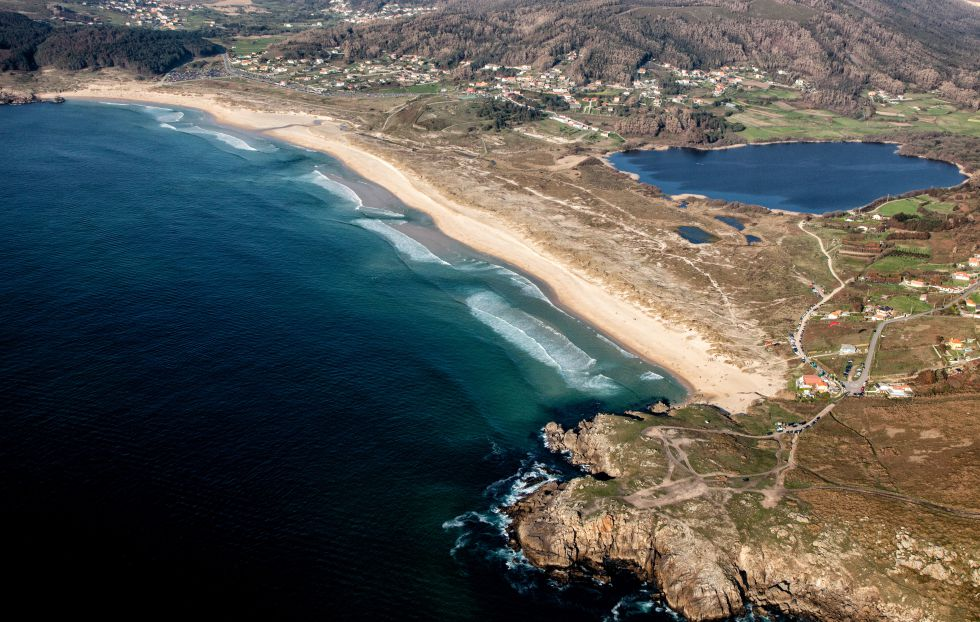 Playa de Doniños, Ferrol (Galicia).
