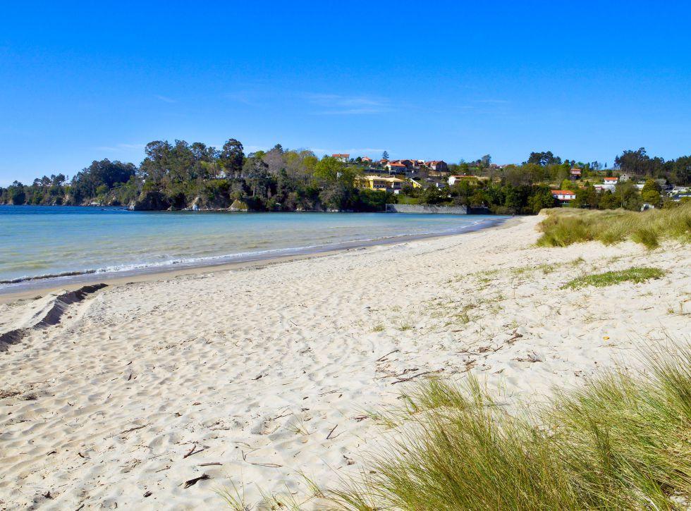 Playa Grande de Miño, Coruña (Galicia).