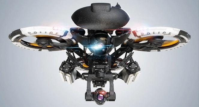 Ya son realidad los primeros drones policía armados que vigilarán las calles
