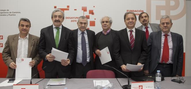 Los ingenieros piden un pacto de inversión en obra pública