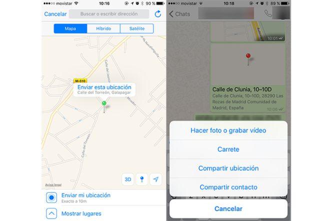 Mapa Con Un Puntero Ubicación: Cómo Enviar Una Ubicación Falsa Por WhatsApp