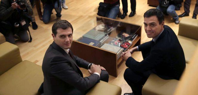 Ciudadanos exigirá al PSOE no subir los impuestos