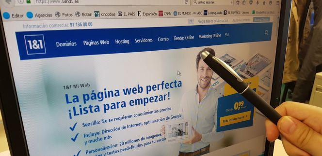 La empresa de hosting 1&1 despide al 62% de su plantilla en España