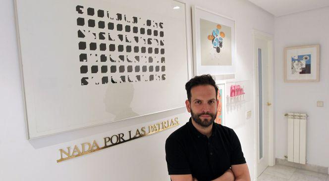 """Mario Suárez: """"Antes de comprar una obra de arte hay que verla dos veces"""""""