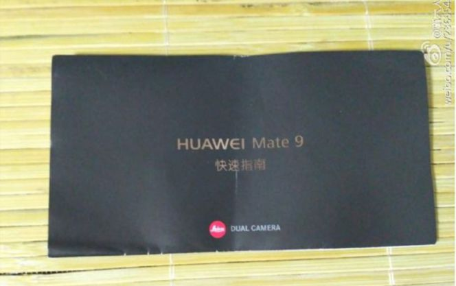 Manual del Huawei Mate 9