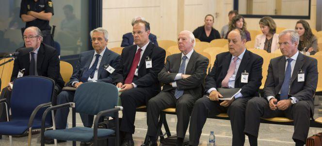 Cinco exdirectivos de Novagalicia, primeros banqueros enviados a prisión
