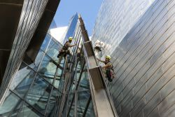 Los escaladores del Museo Guggenheim de Bilbao