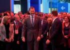Felipe VI y Puigdemont inauguran la feria de las novedades tecnológicas