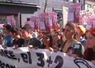 Padres, alumnos y profesores salen a la calle para que se retire la LOMCE