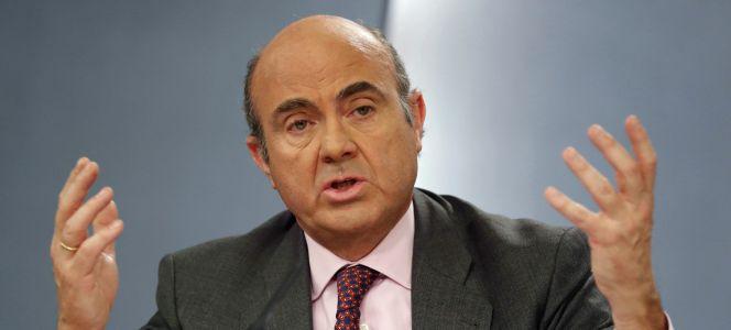 Guindos sugiere que el déficit de 2016 estará por debajo del objetivo