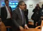 Homs recibe en el Congreso la notificación de su inhabilitación