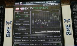 La Bolsa de Madrid. El Ibex 35 en 2015