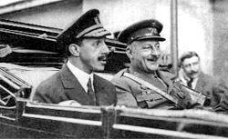 Alfonso XIII con Primo de Rivera