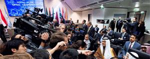 Los gobiernos de Arabia Saudita, Rusia, Venezuela y Qatar acordaron el 16 de febrero congelar la producción de petróleo