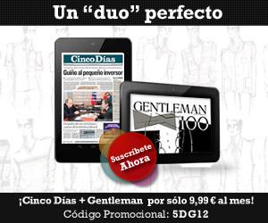 Oferta Cinco Días + Gentleman